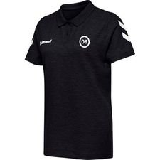 Odense Boldklub Go Cotton Piké - Svart Dam