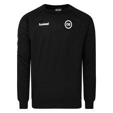 Odense Boldklub Sweatshirt Go Cotton - Svart/Vit