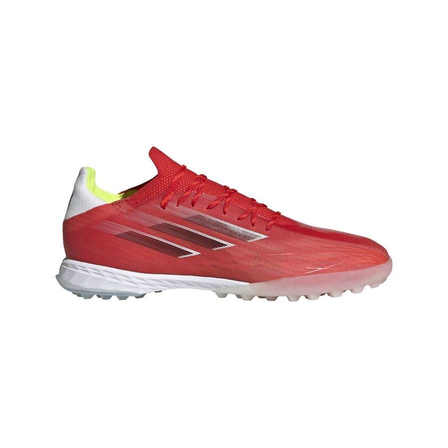 adidas X Speedflow .1 TF Meteorite - Rød/Sort/Rød