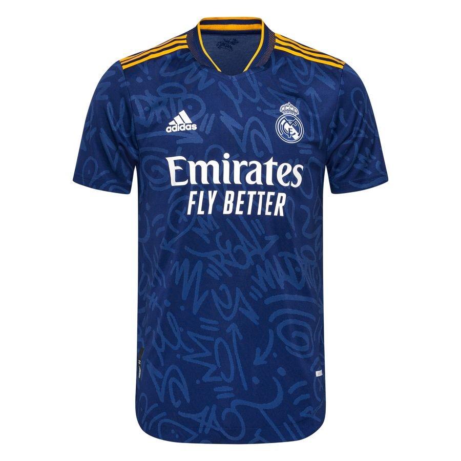 Real Madrid Udebanetrøje 2021/22 Authentic