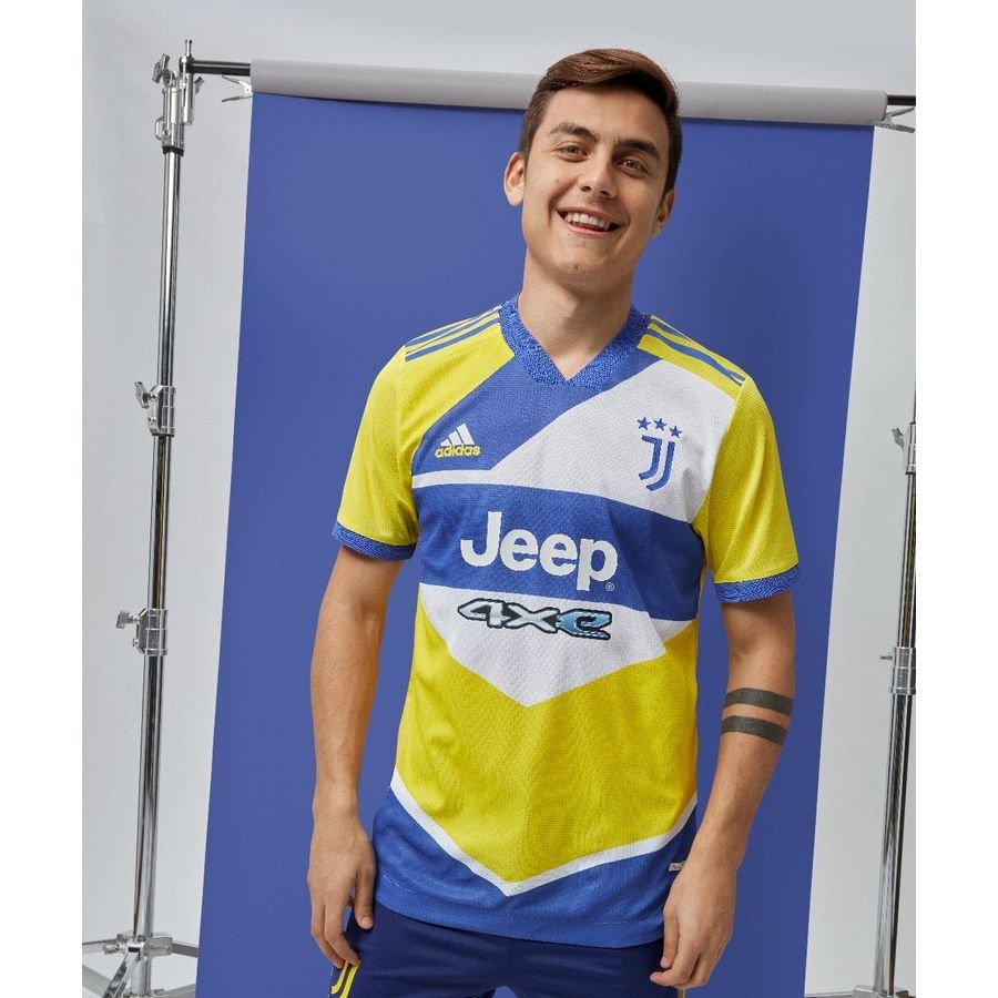 Juventus 3. Trøje 2021/22 Authentic