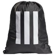 Essentials 3-Stripes Gym Sack Svart