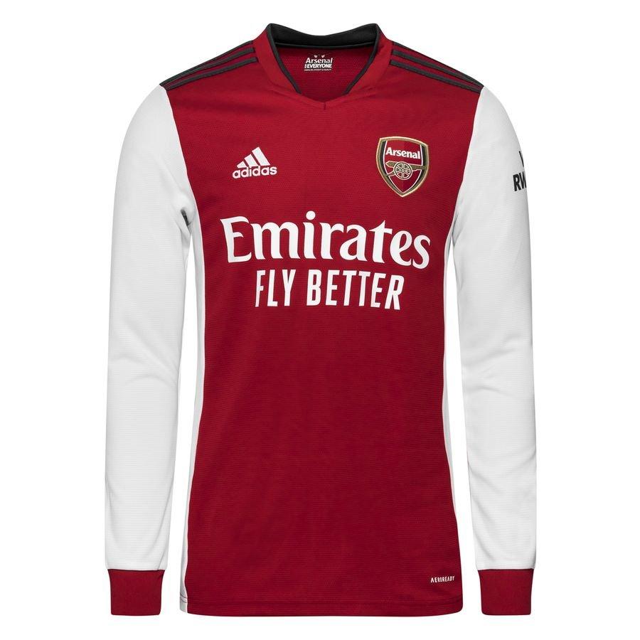 Arsenal Hjemmebanetrøje 2021/22 Lange Ærmer