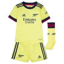 Arsenal Udebanetrøje 2021/22 Mini-Kit Børn FO