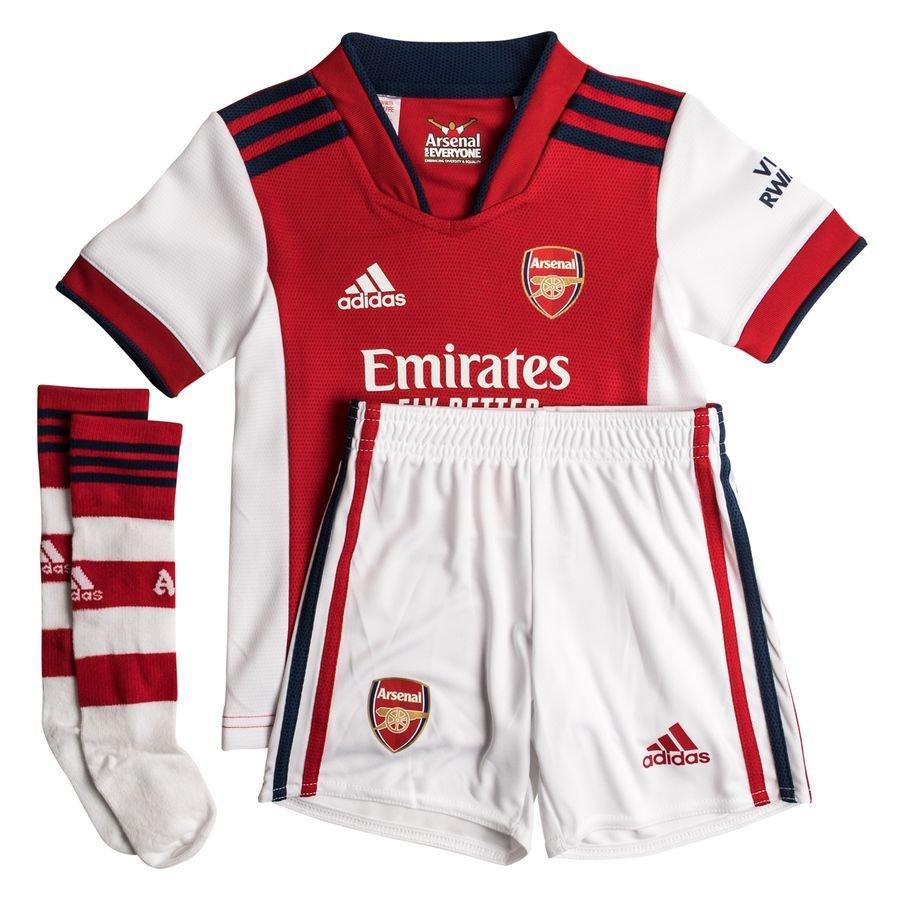 Arsenal Hjemmebanetrøje 2021/22 Mini-Kit Børn