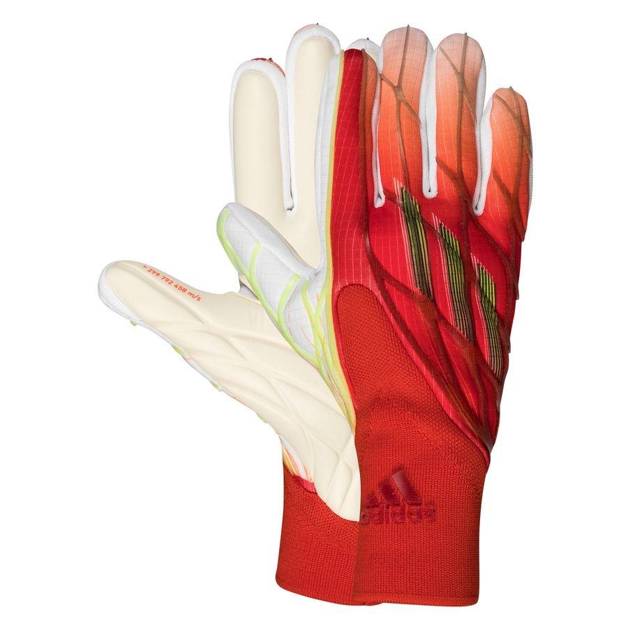 adidas Keepershandschoenen X Pro Speedflow - Rood/Rood/Zwart