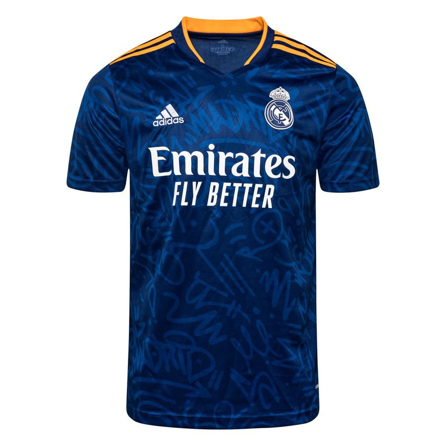 Real Madrid Udebanetrøje 2021/22 Børn