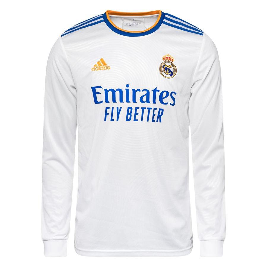 Real Madrid Hjemmebanetrøje 2021/22 Lange Ærmer
