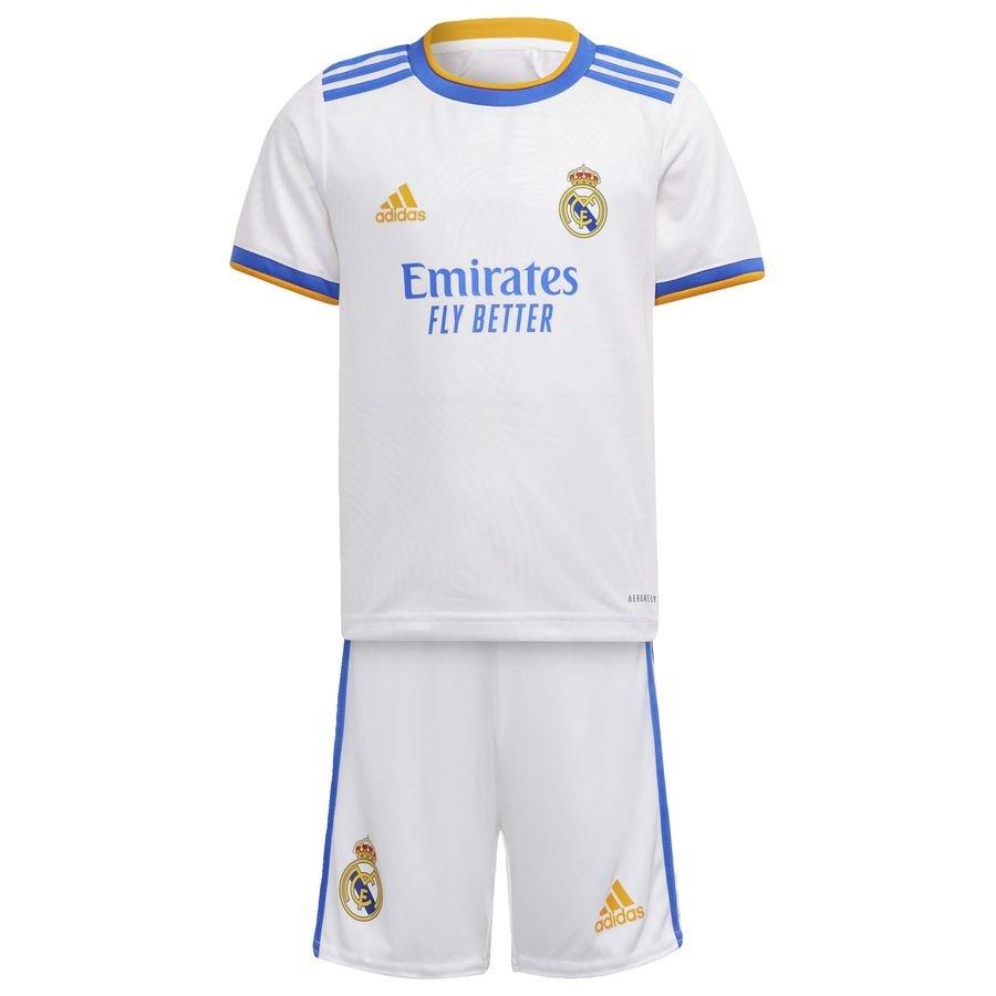 Real Madrid Hjemmebanetrøje 2021/22 Mini-Kit Børn