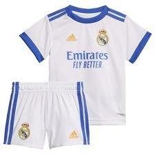 Real Madrid 21/22 Baby hjemmebanesæt Hvid