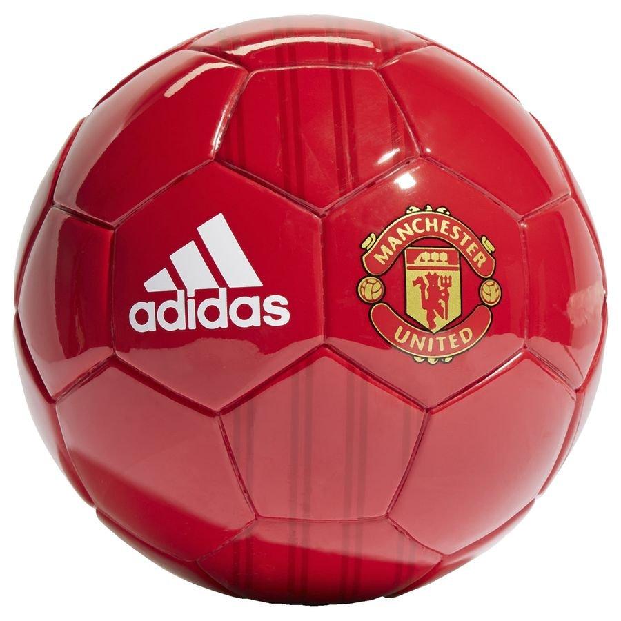 Manchester United Fotboll Mini - Röd/Röd/Guld