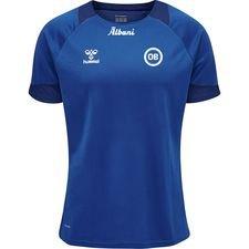 Odense Boldklub Lead Tränings T-Shirt - Blå