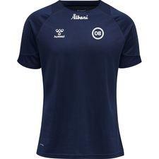 Odense Boldklub Lead Tränings T-Shirt - Navy