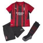 Milan AC Maillot Domicile 2021/22 Mini-Kit Enfant