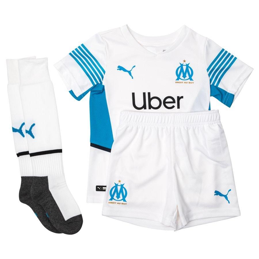 Marseille Hjemmebanetrøje 2021/22 Mini-Kit Bø
