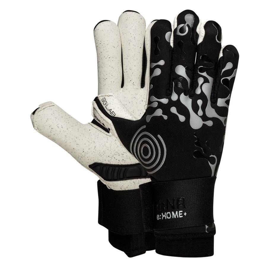 GG:LAB Keepershandschoenen d:NA e:XOME+ Finger Protection - Zwart/Grijs