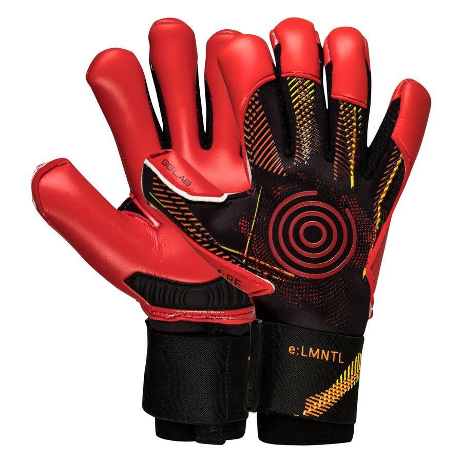 GG:LAB Keepershandschoenen f:RE e:LMNTL - Zwart/Rood