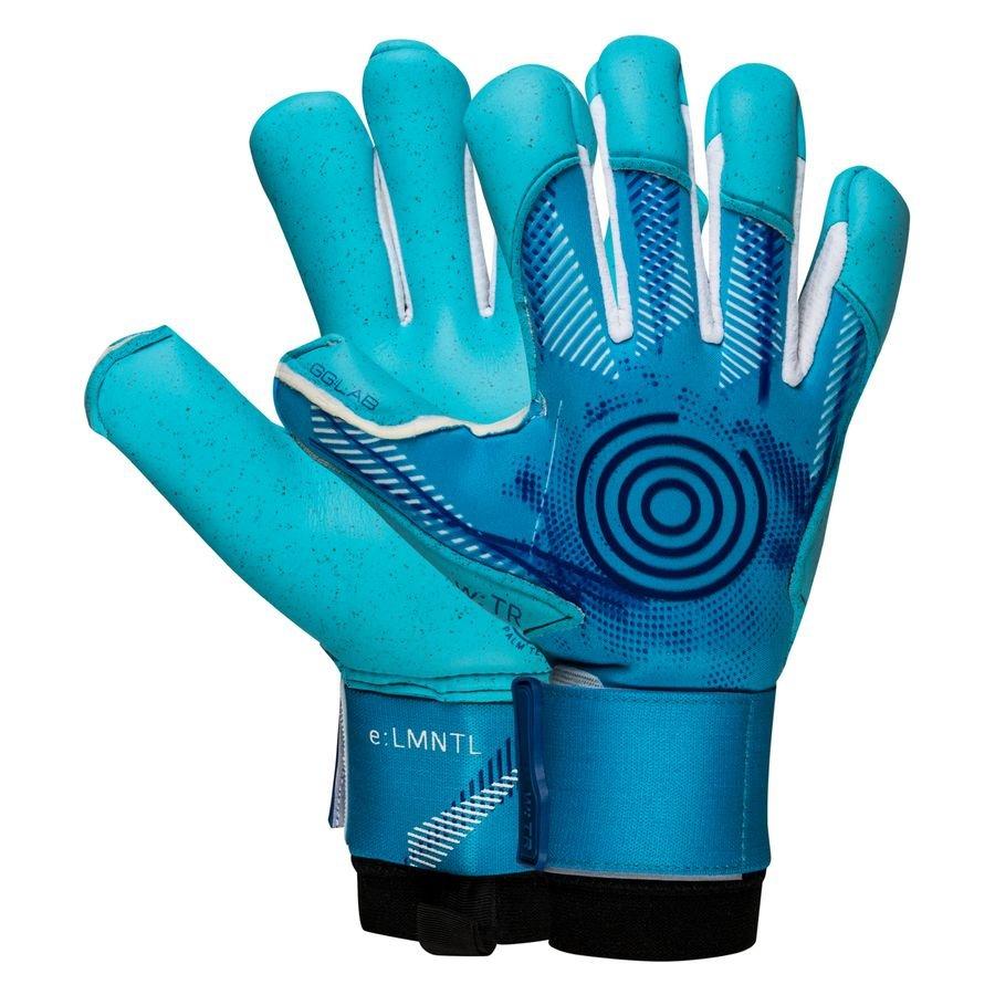 GG:LAB Keepershandschoenen w:TR e:LMNTL Finger Protection - Turquoise/Blauw
