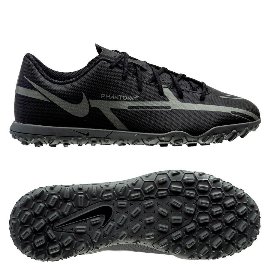 Nike Phantom GT 2 Club TF Renew - Sort/Grå Børn