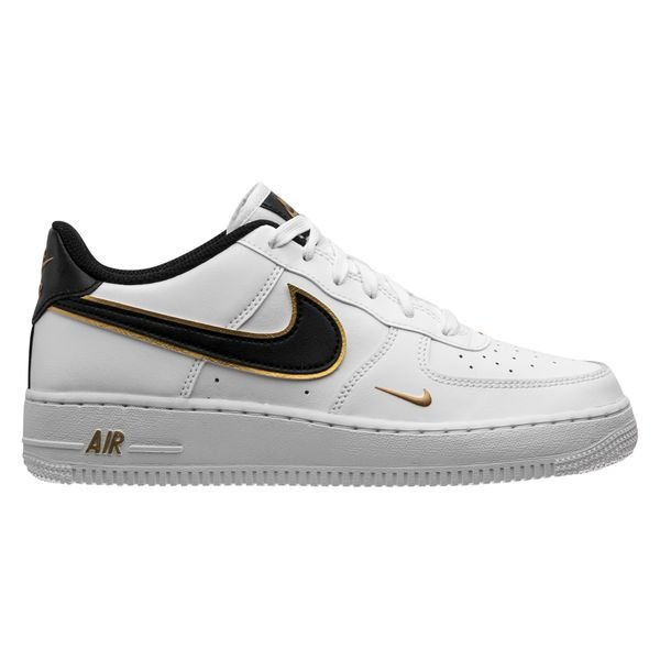 Nike Chaussures Air Force 1 LV8 - Blanc/Noir/Doré Enfant | www ...