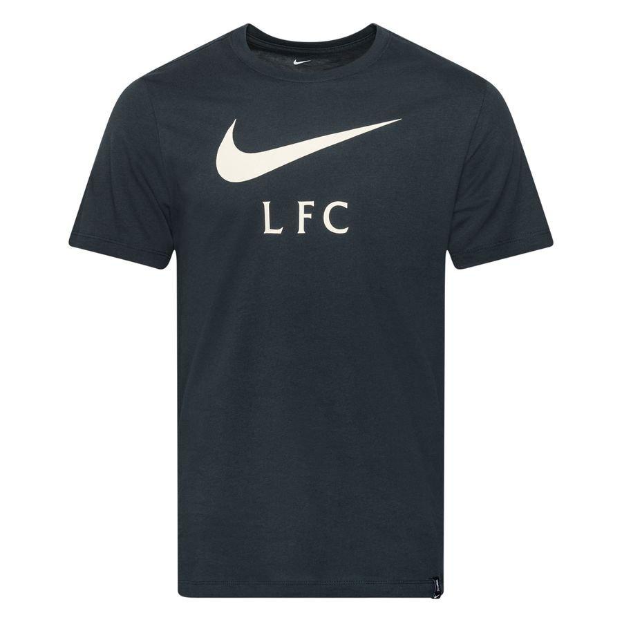Liverpool T-Shirt Swoosh Club - Navy/Hvid