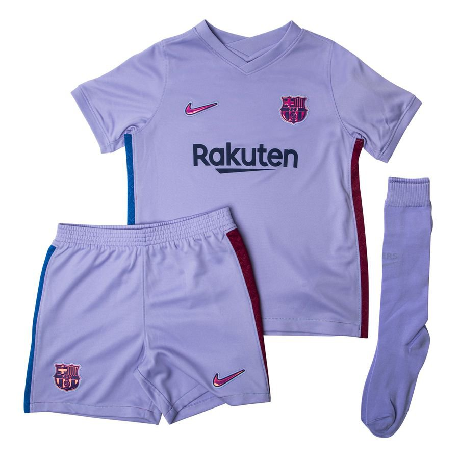 Barcelona Udebanetrøje 2021/22 Mini-Kit Børn
