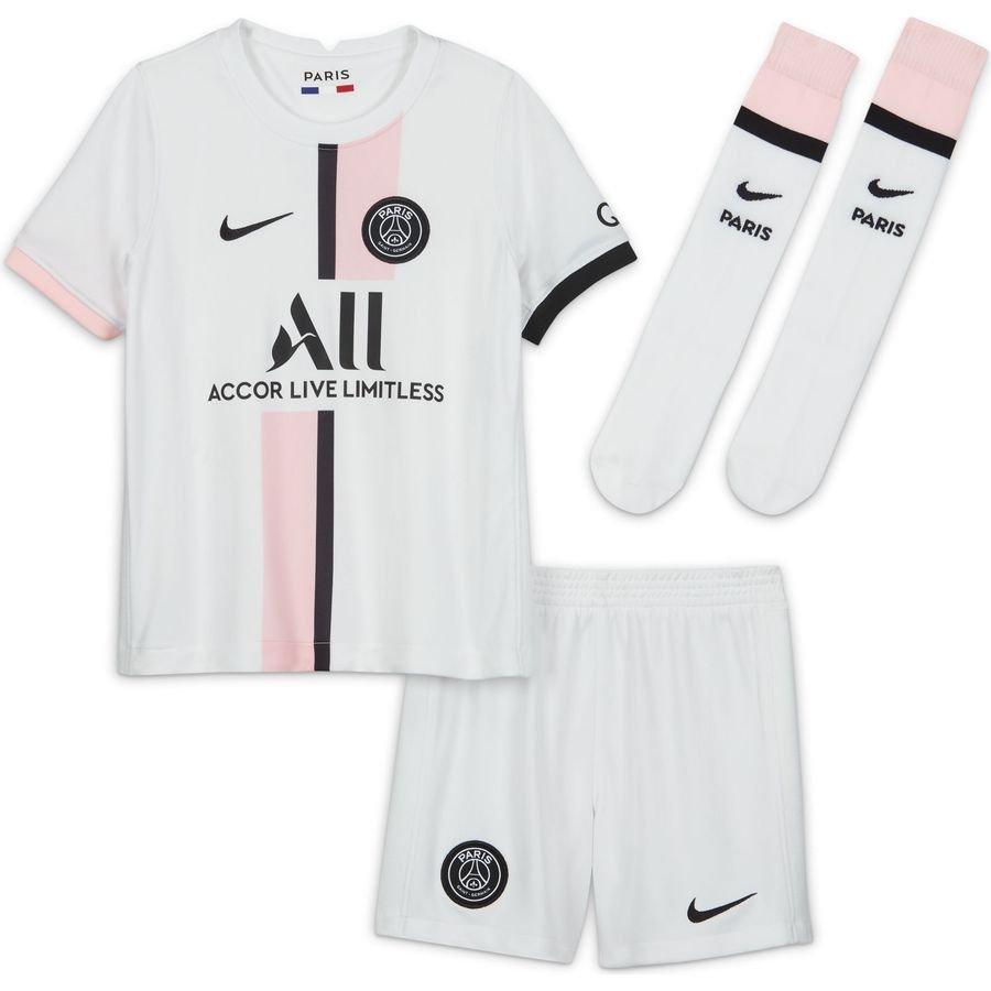 Paris Saint-Germain Udebanetrøje 2021/22 Mini-Kit Børn