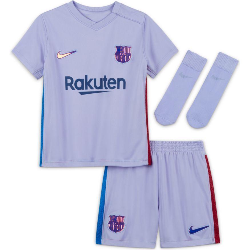 Barcelona Udebanetrøje 2021/22 Baby-Kit Børn