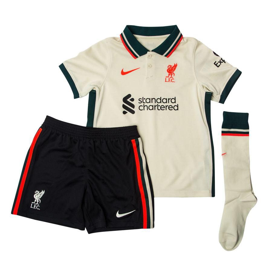 Liverpool Udebanetrøje 2021/22 Mini-Kit Børn