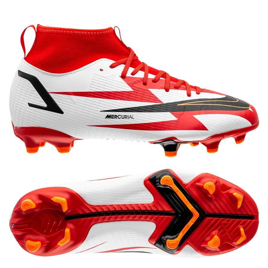 Nike Mercurial Superfly 8 Academy MG CR7 Spark Positivity - Rood/Zwart/Wit/Oranj <br/>EUR 63.95 <br/> <a href=
