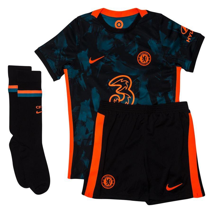 Chelsea 3. Trøje 2021/22 Mini-Kit Børn