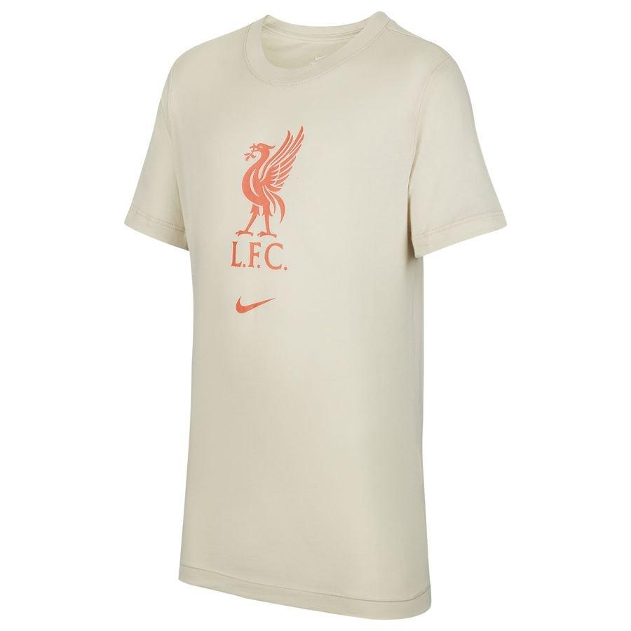 Liverpool FC-fodbold-T-shirt til store børn