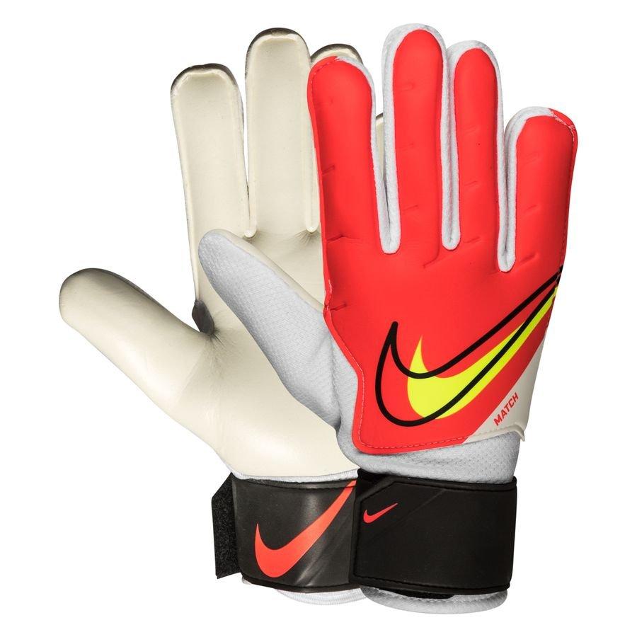 Nike Keepershandschoenen Match Motivation - Rood/Zwart/Neon