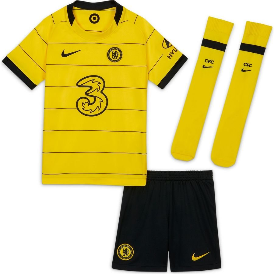 Chelsea Udebanetrøje 2021/22 Mini-Kit Børn