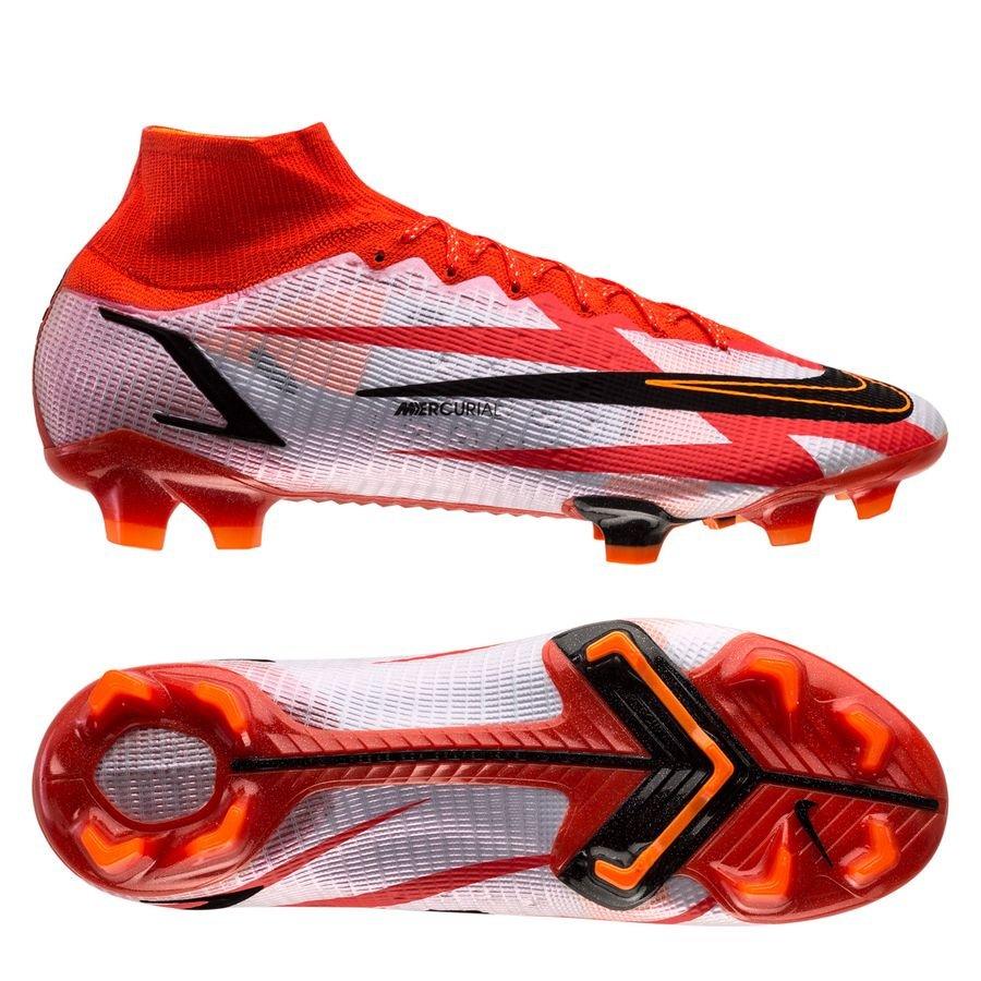 Nike Mercurial Superfly 8 Elite Fg Cr7 Spark Positivity - Rood/zwart/wit/oranje  <br/>EUR 216.95 <br/> <a href=