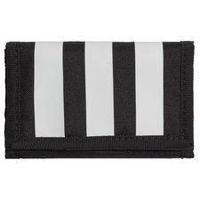 Essentials 3-Stripes Wallet Svart