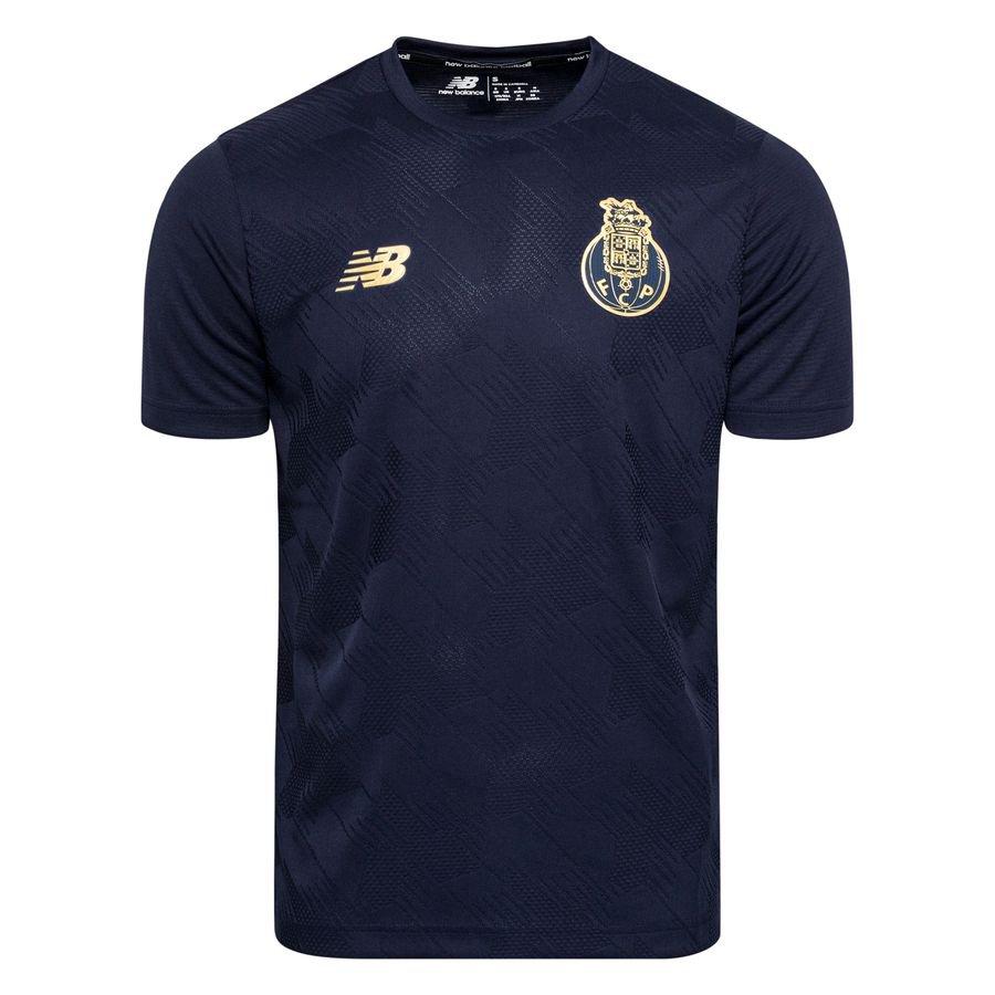 Porto Tränings T-Shirt Pre Match - Navy/Guld