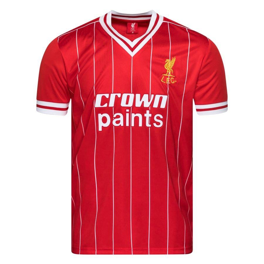 Liverpool Hjemmebanetrøje 1982