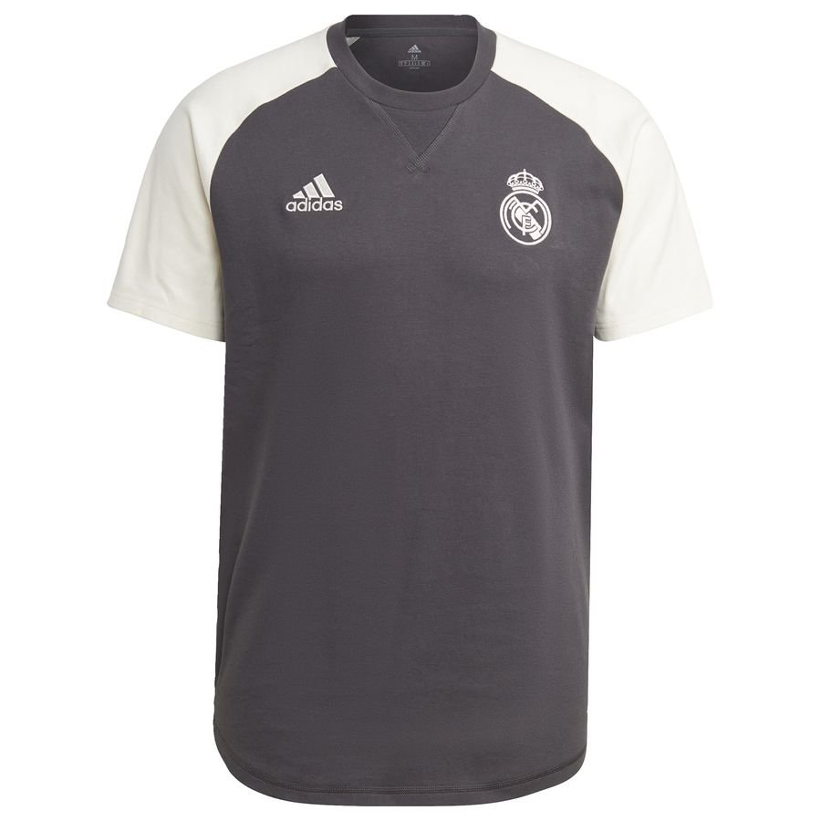 Real Madrid Travel Jersey Grey