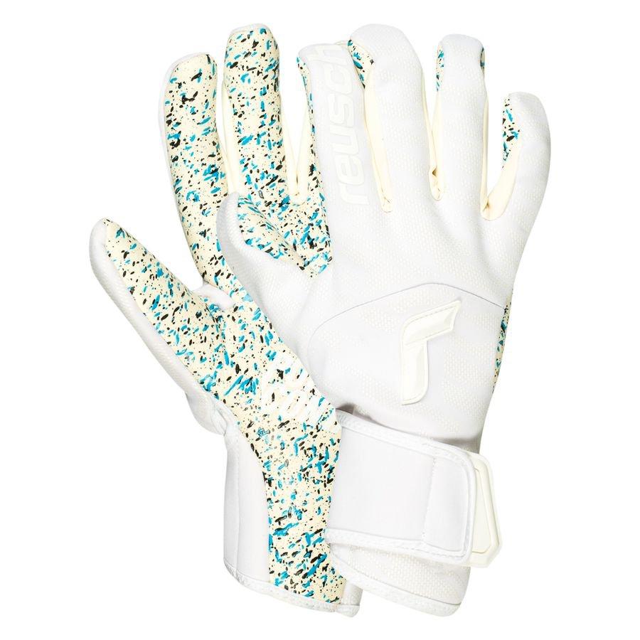 Reusch Keepershandschoenen Totalwhite Pure Contact Fusion - Wit