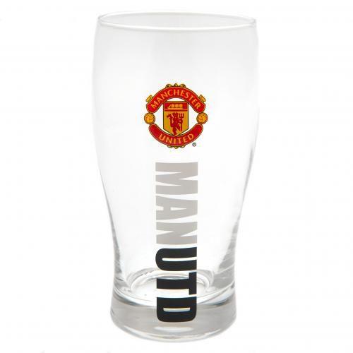 Manchester United Ölglas - Röd