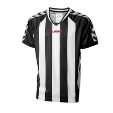hummel spilletrøje striped sort/hvid -