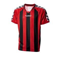 hummel spilletrøje striped rød/sort -