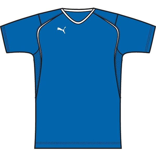 puma v5.08 ss shirt blå børn -