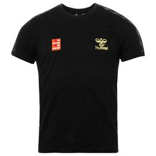hummel t-shirt giv racismen det røde kort mørkegrå -