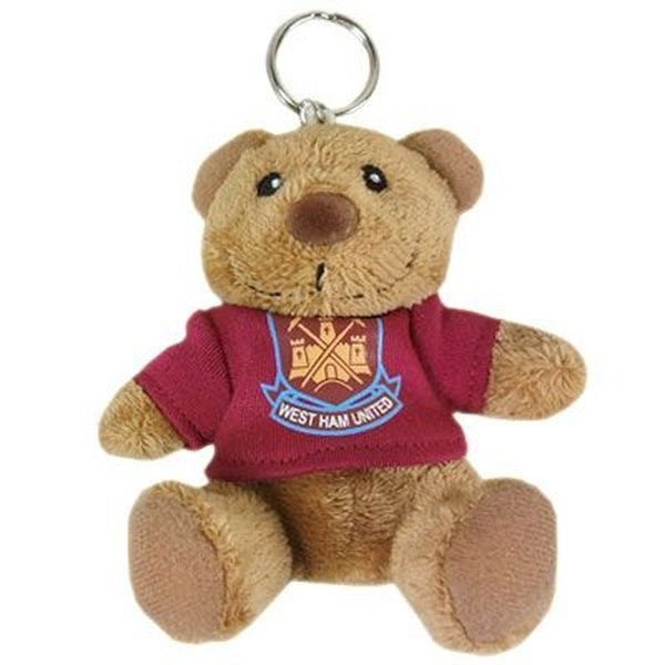 Bear In Hing Reng 2: West Ham United Key Ring Bear