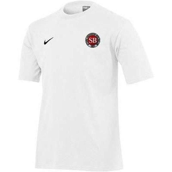 store heddinge boldklub t-shirt hvid børn -