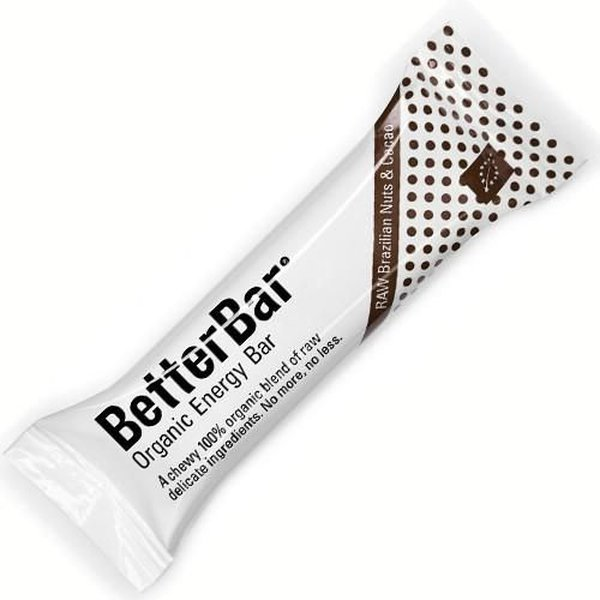 ecoprotein betterbar raw brazilian nuts & cacao -