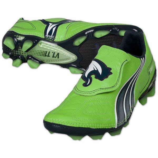 Puma Velocity 1.11 K-Leather FG Green
