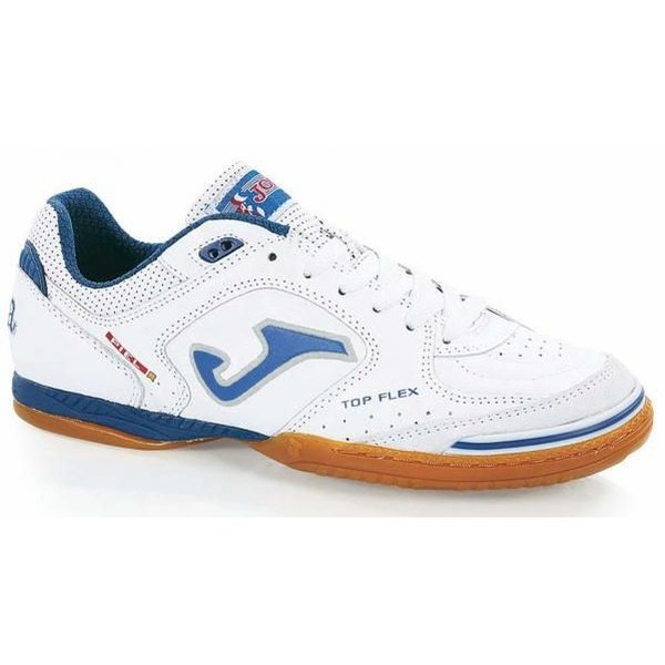 Joma Top Flex IC White Blue. Read more about the product. - indoor shoes  image shadow 90c10c0b4f5e9